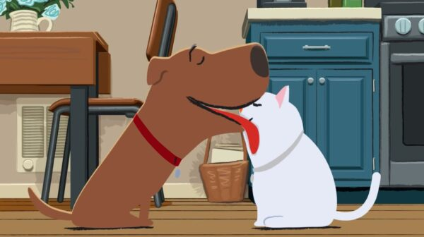 Animator Makes Adorable Short of Dog and Stray Cat Who Are 'Better Together' Than Sad Alone