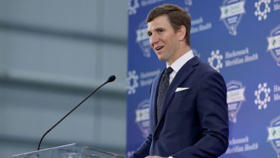 Eli Manning: I think both sides needed a little parting, but I'm excited to be back with Giants